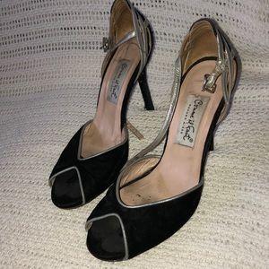 """DANCE Comme il Faut 36 velvet 3.9"""" heel"""
